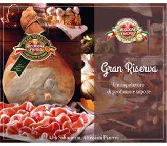 Raw ham Parma ham DOP Bedogni Egidio Parma Gran riserva - approx 8kg