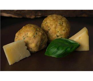 Canederli  biologici con formaggio 4 pezzi