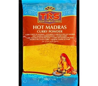 MADRAS CURRY POWDER HOT 100G