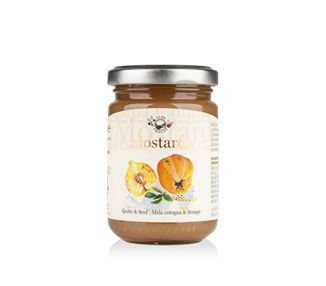 Mostarda di mela cotogna e senape - 160g