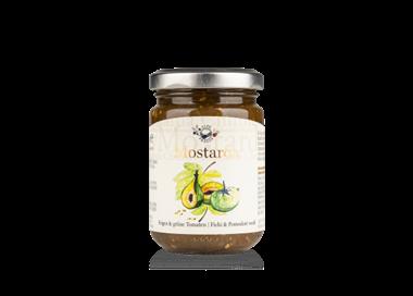 Mostarda Chutney Feigen & grüne Tomaten- 160g