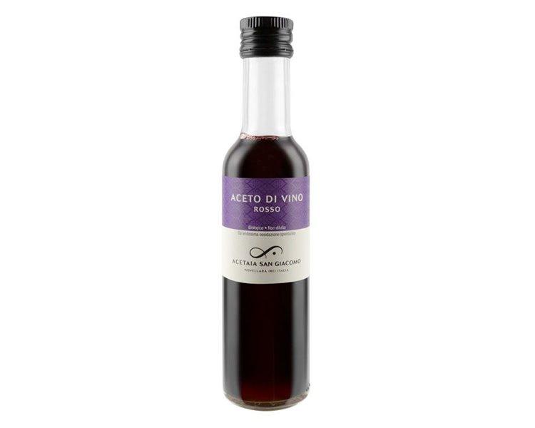 Rosso - Puro aceto di vino Bio (Lambrusco) - 250 ml