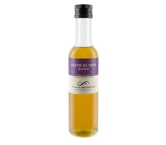 White - Pure Organic Wine Vinegar (Malvasia) 250 ml