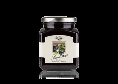 Marmellata di mirtillo nero (75%) 335 g