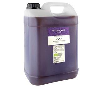 Rosso - Puro aceto di vino Bio (Lambrusco) - 5 L