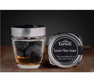 100% Tartufo nero intero in salamoia 120 gr