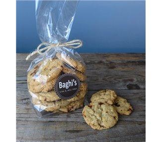 Biscotti al caramello salato MOU e arachidi Baghi's 200g
