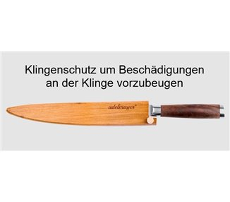 adelmayer® Damastmesser Filetiermesser 24,5 cm – handgeschliffen nach traditioneller Art