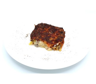 Lasagne with fermented mushrooms, herbs and root vegetables - 2 portions