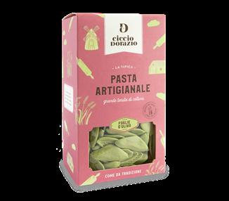 Handgemachte Pasta Olivenblätter aus Bari Ciccio d'orazio - 500g
