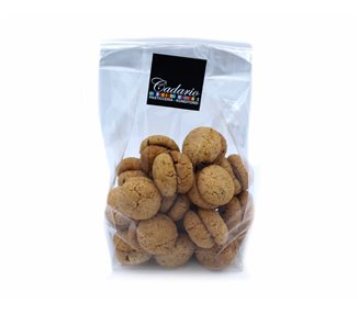 "Handmade hazelnut biscuits ""baci di dama"" with chocolate filling, Cond. Cadario 200g"